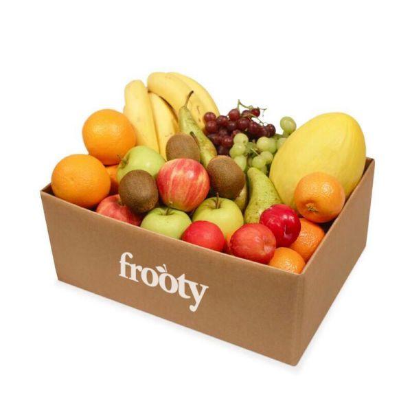 caja de frutas frooty