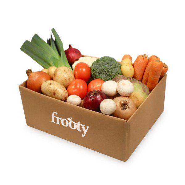caja de verduras frooty