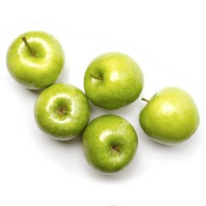 Manzanas Smith ecológicas de Proximidad cultivadas por Margarita