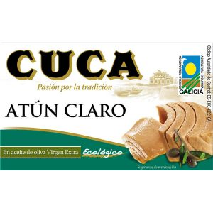 comprar Atún Claro en aceite de oliva virgen extra ecológico Cuca online supermercado ecologico barcelona frooty