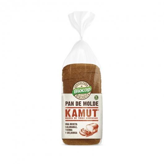 Pan de molde Kamut procedente de agricultura ecológica, Biocop