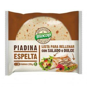 comprar Piadina de espelta Biocop procedente de agricultura biológica online supermercado ecologico barcelona frooty