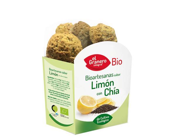 comprar galletas de limon y chia el granero integral online supermercado ecologico barcelona frooty