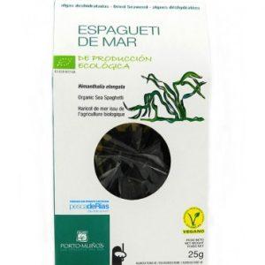 Espagueti de mar de producción ecológica deshisdratado, 25 gramos
