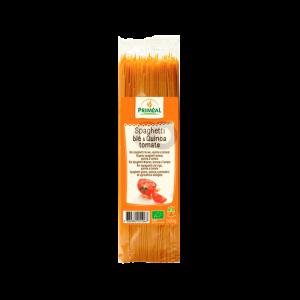 Espaguetis de trigo y quinoa con tomate Priméal, 500 gramos