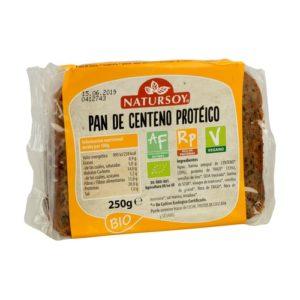 comprar Pan centeno protéico Natursoy online supermercado ecologico barcelona frooty
