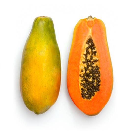 Papaya de Málaga cultivada por Pablo