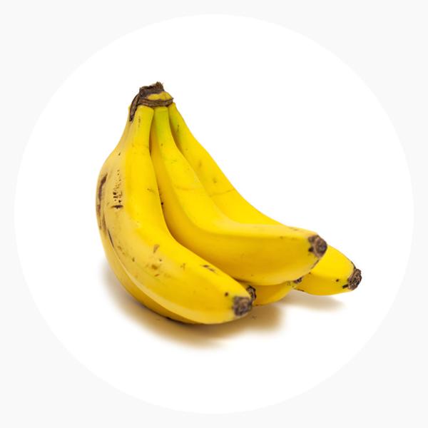 Plátanos ecológicos y fruta variada de la mejor calidad