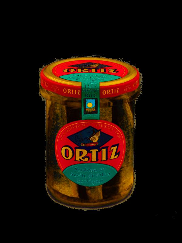 comprar Sardinas en aceite de oliva ecológico Ortiz online supermercado ecologico barcelona frooty