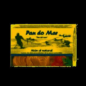 Lomos de atún al natural procedentes de pesca sostenible Pan do Mar