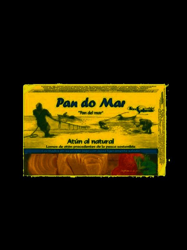 comprar Lomos de atún al natural procedentes de pesca sostenible Pan do Mar online supermercado ecologico barcelona frooty