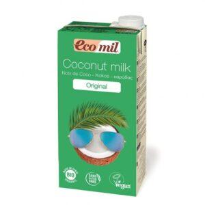 comprar Leche de coco original, vegana y bio sin azucares online supermercado ecologico barcelona frooty