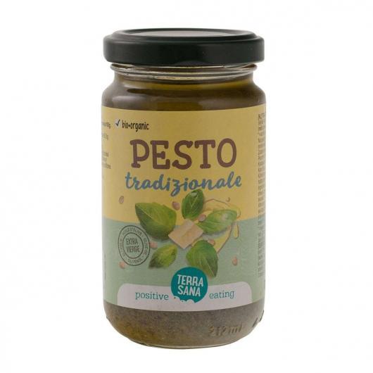 Pesto Tradicional con aceite de oliva virgen extraBio Orgánico