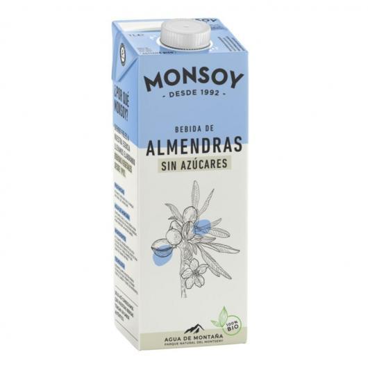 Bebida de almendras sin azúcares Monsoy