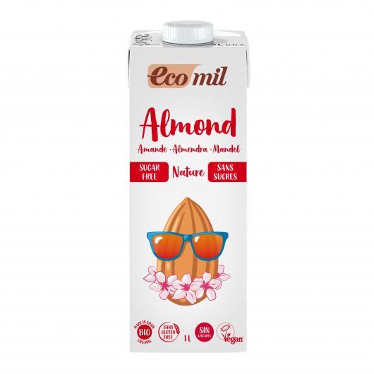 Bebida de almendra sin azucar EcoMil
