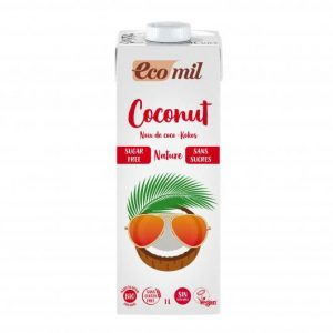 Bebida natural de coco sin azucar EcoMil