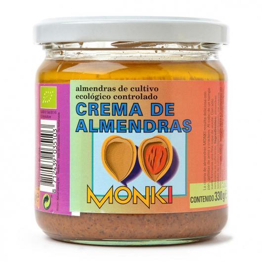 Crema de almendras de cultivo ecológico controlado Monki
