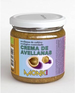 comprar Crema de avellanas de cultivo ecológico controlado Monki online supermercado ecologico barcelona frooty