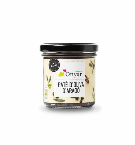 Paté de Oliva d'Aragó Eco Onyar