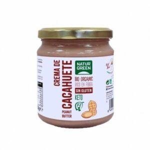 comprar crema-de-cacahuete-bio-330g-naturgreen online supermercado ecologico barcelona