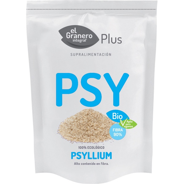 Psyllium 100% Ecológico para mejorar el funcionamiento intestinal