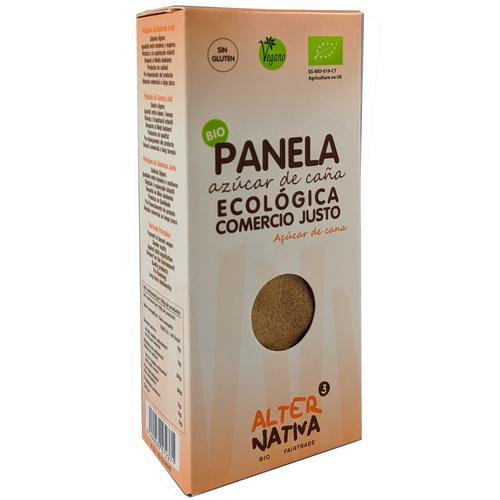 Panela de azúcar de caña bio 100% ecológica procedente de comercio justo