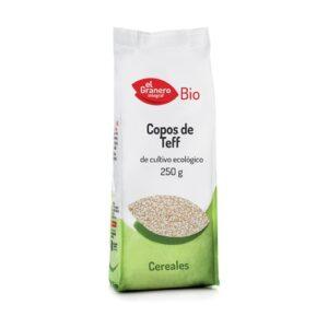 comprar Copos de teff procedentes de cultivo ecológico El Granero, 250 gramos online supermercado ecologico barcelona frooty