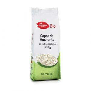 Copos de amaranto de cultivo ecológico Bio El Granero, 500 gramos