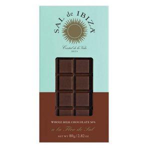 comprar chocolate con leche 50% sal de ibiza online supermercado ecologico barcelona frooty