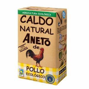 Caldo natural de pollo aneto 100% ecológico