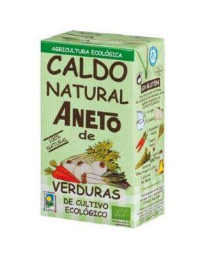 comprar Caldo natural Aneto de verduras de cultivo ecológico online supermercado ecologico de barcelona frooty