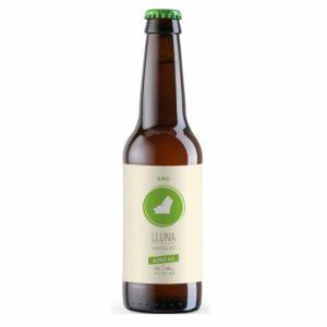 comprar Cerveza Blonde alc 4.8% Cerveses Lluna, 330ml online supermercado ecologico barcelona frooty