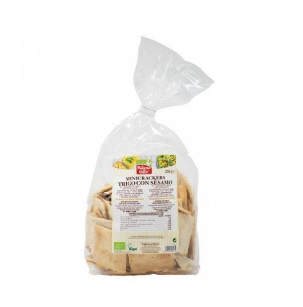 Minicrackers de trigo con sésamo, La Finestra del Cielo