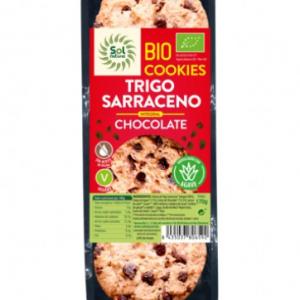 Cookies bio de trigo sarraceno y chocolate 100% veganas
