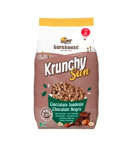 Krunchy sun de chocolate negro de Barnhouse