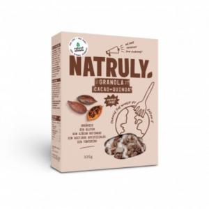 Granola de Cacao + Quinoa Natruly