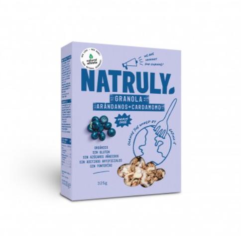 Granola de Arándanos y Cardamomo Natruly