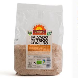 Salvado de trigo con lino Biográ