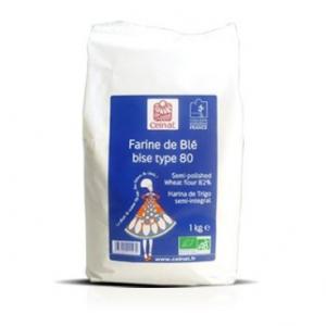 Harina de trigo semiintegral Celnat, 1 kg