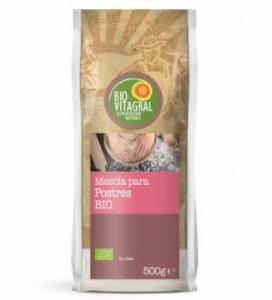 Mezcla para postres Bio Vitagral 500 gr
