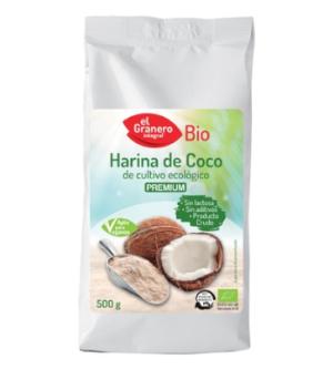comprar Harina de coco de cultivo ecológico online supermercado ecologico barcelona frooty
