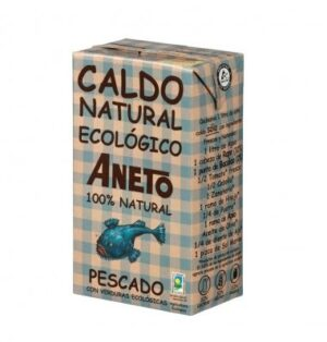 comprar Caldo de pescado natural y ecológico Aneto online supermercado ecologico de barcelona frooty