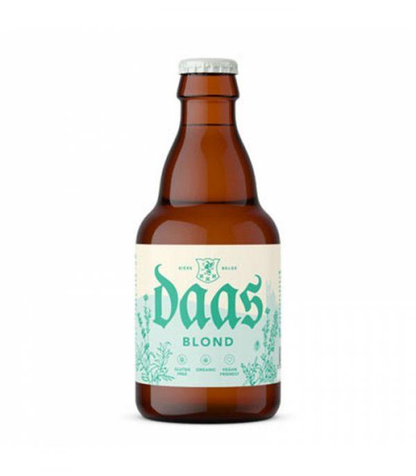 Cerveza Daas Blond Ecológica con un aroma a Miel