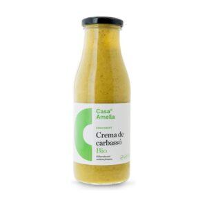 comprar Crema de calabacín bio de la Casa Amella en un bote de cristal online supermercado ecologico de barcelona frooty