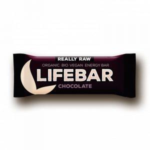 Barrita energética vegana de chocolate Lifebar