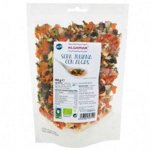 comprar Sopa juliana con algas Algamar y totalmente ecológica 150 gronline supermercado ecologico de barcelona frooty