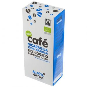 comprar Café de Nicaragua Arabica en polvo Alter Nativa, 250g online supermercado ecologico bio en barcelona frooty