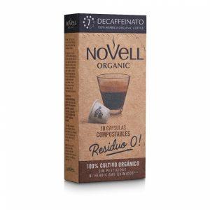 comprar Café Descafeinado 7 Novell, 10 cap online supermercado ecologico bio en barcelona frooty