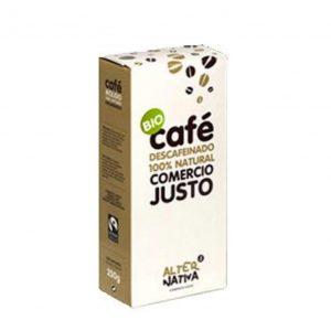 comprar Café Descafeinado en Polvo Alter Nativa, 250g online supermercado ecologico bio en barcelona frooty
