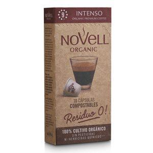 comprar Café Intenso 9 Novell, 10 cap online supermercado ecologico bio en barcelona frooty